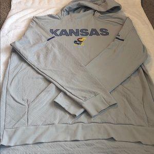 Men's KU Adidas sweatshirt